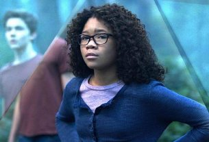 Screenshot of sStorm Reid as a concerned-yet-determined Meg Murry