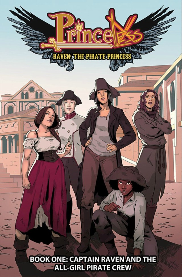Cover of Raven: the Pirate Princess Book One