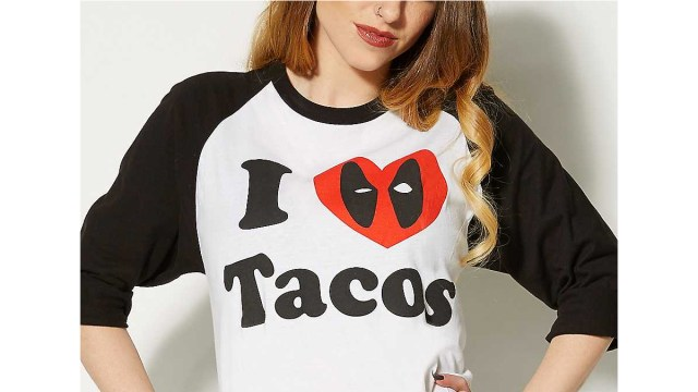 Deadpool Shirt \ Image: Spencers