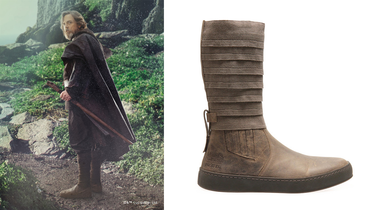 Luke Skywalker Boots by Po-Zu, Image: Po-Zu