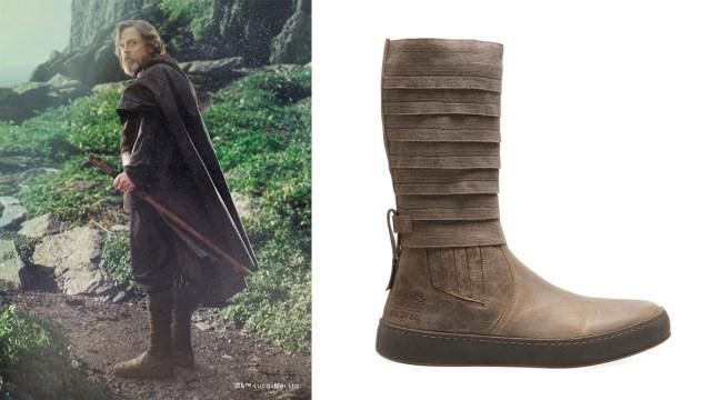 Luke Skywalker Boots by Po-Zu, Image: Po-Zu