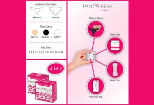 PantyFresh Infographic \ Image: PantyFresh