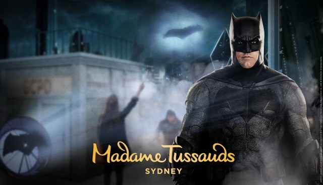 justice league batman superman Madame Tussauds Sydney