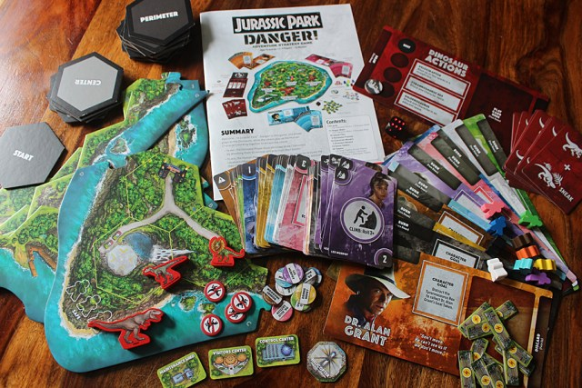 Contents of Jurassic Park: Danger, Image: Sophie Brown
