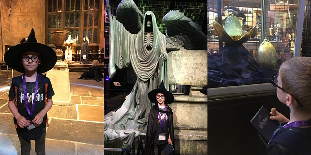 Goblet of Fire Items at The Harry Potter Studio Tour, Images: Sophie Brown