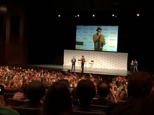 Jeff Goldblum's panel was funny but too short. \ Image: Dakster Sullivan