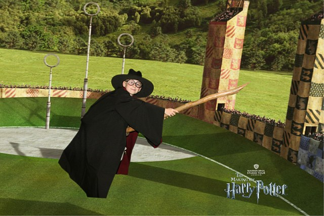 My Son Riding a Broom, Image: Warner Bros