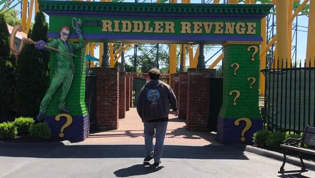 Six Flags Riddler's Revenge