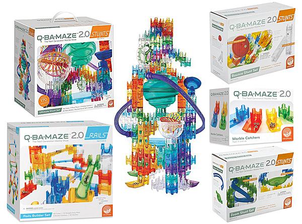 Some Q-Ba-Maze Expansions, Images: MindWare