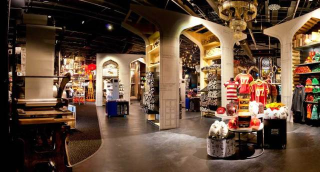 One Section of The Main Studio Shop, Image: Warner Bros