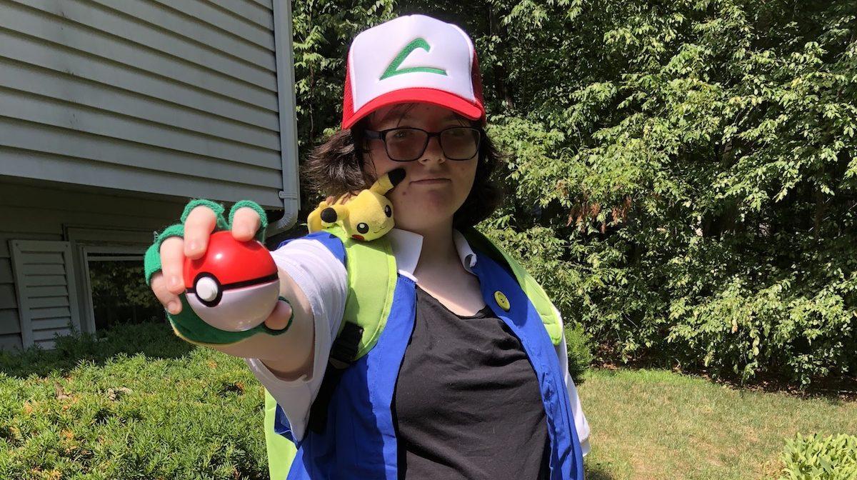 Pokemon Ash cosplay