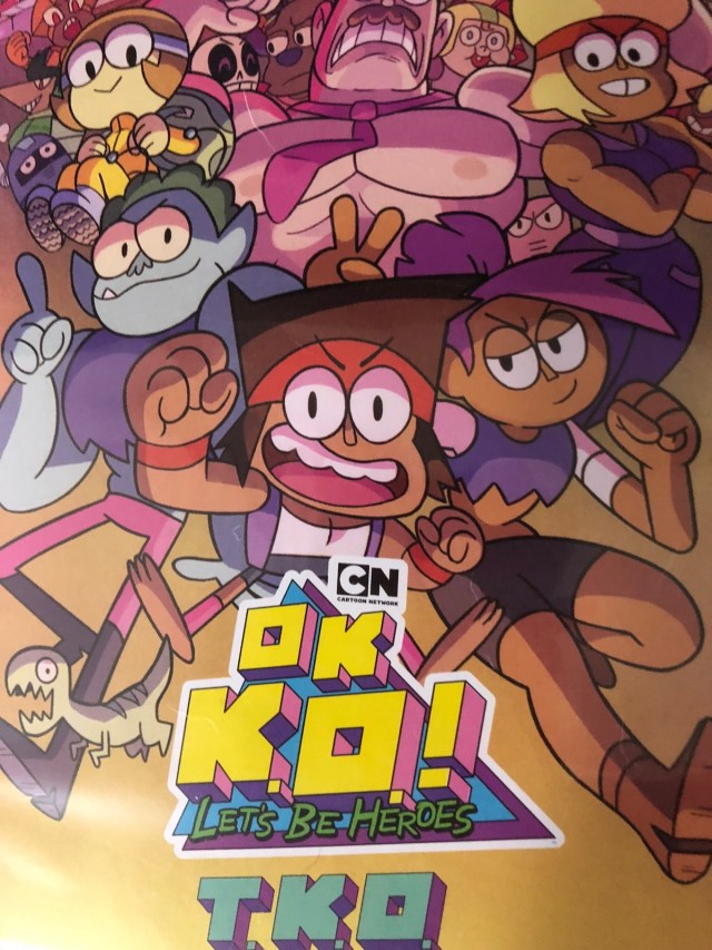 OK KO box art DVD