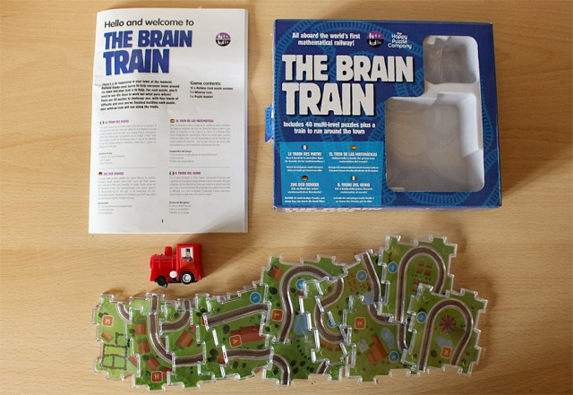 The Brain Train Components, Image: Sophie Brown
