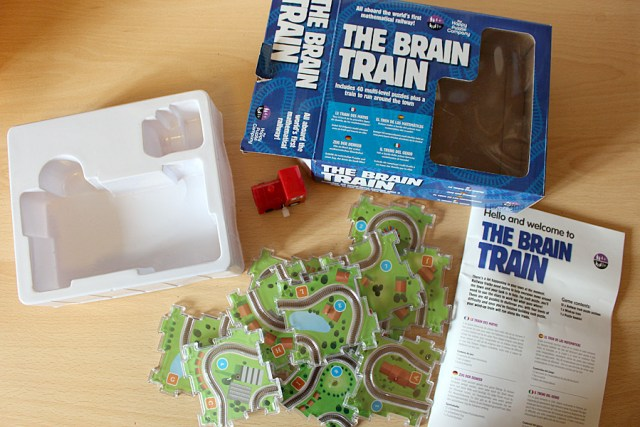 The Brain Train Packaging - Lots of Cheap Plastic, Image: Sophie Brown