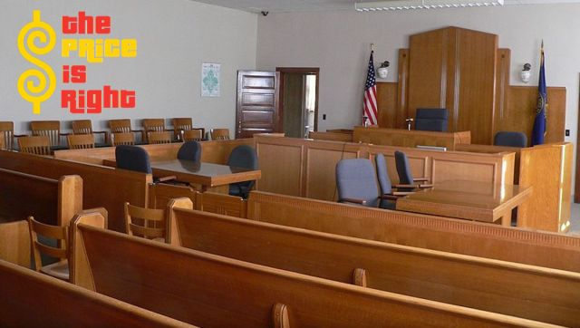Municipal Traffic Court image with Price Is Right logo superimposed