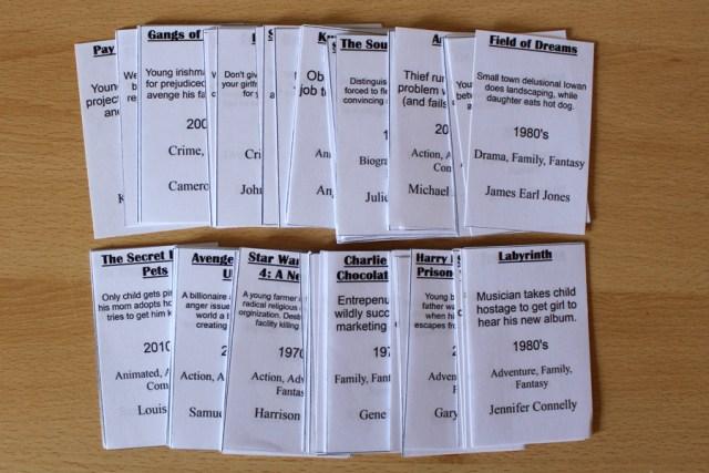#BadPlots Prototype Deck, Image: Sophie Brown