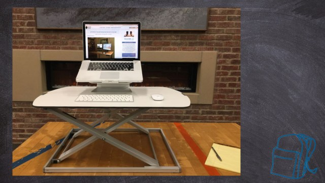 Fully Adjustable Height Desks \ Image: Ryan Hiller
