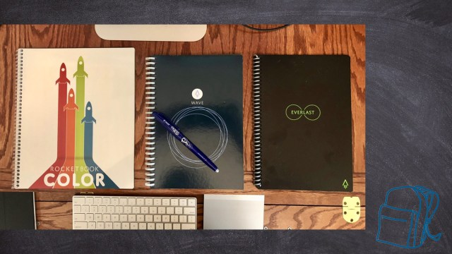 Rocketbook Notebooks \ Image: Skip Owens