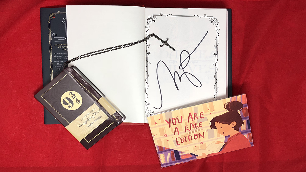 Who doesn't love an autographed book? \ Image Dakster Sullivan