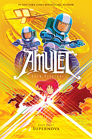 Amulet 8: Supernova, Image: Scholastic