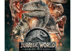 Jurassic World: Fallen Kingdom movie poster giveaway