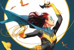 Batgirl #27 variant cover