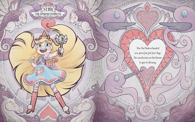 Star vs the Forces of Evil: Magic Book of Spells page