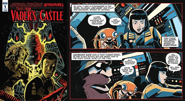 Tales From Vader's Castle #1, Images: IDW Publishing