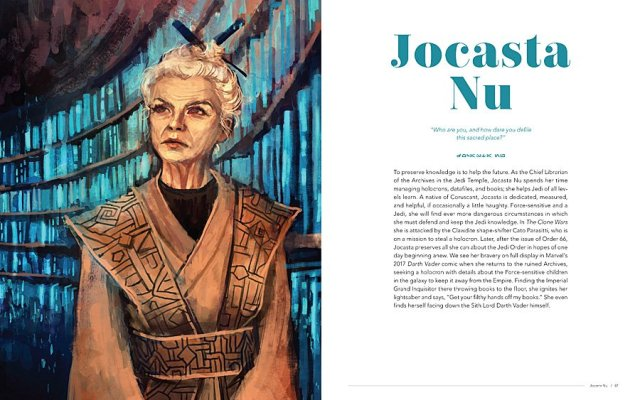 Jocasta Nu - Artist: Alice X Zhang, Image © 2018 Lucasfilm Ltd. All Rights Reserved. Used Under Authorization