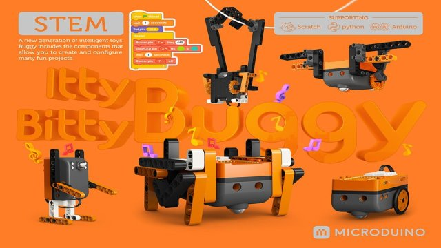 Itty Bitty Buggy by Microduino