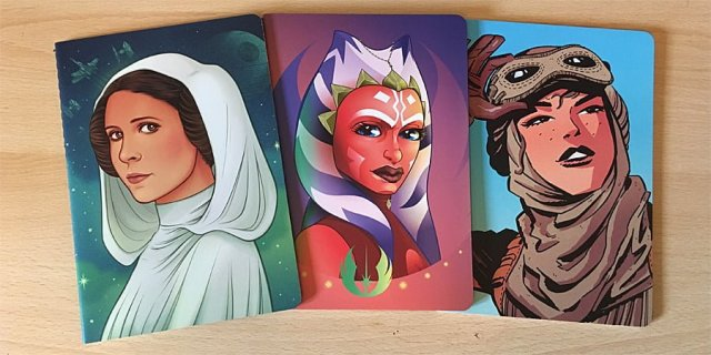 Star Wars: Women of the Galaxy Notebooks, Image: Sophie Brown