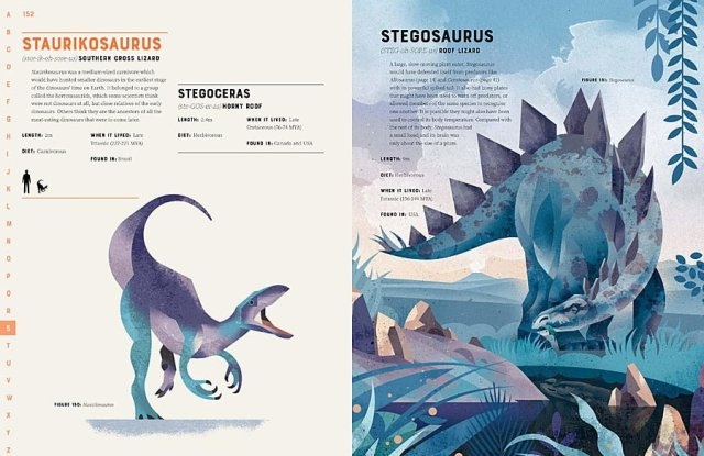 Stegosaurus (My Favorite Dinosaur) Gets a Full-Page Illustration, Image: Wide Eyed Editions