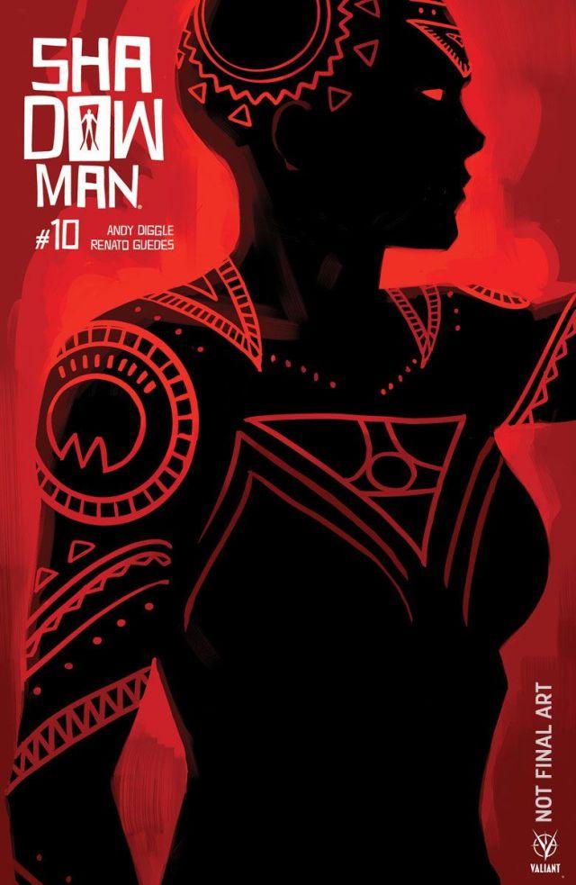 Shadowman #10 cover