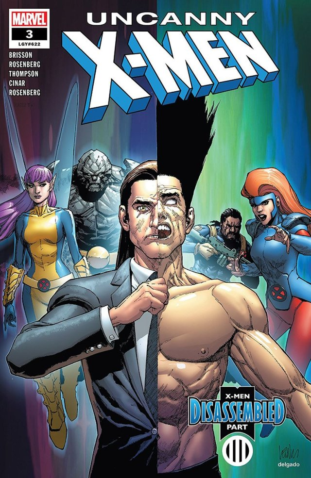 'Uncanny X-Men #3' Cover Art