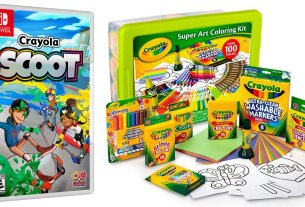 Crayola Giveaway, Images: Crayola, Outright Games
