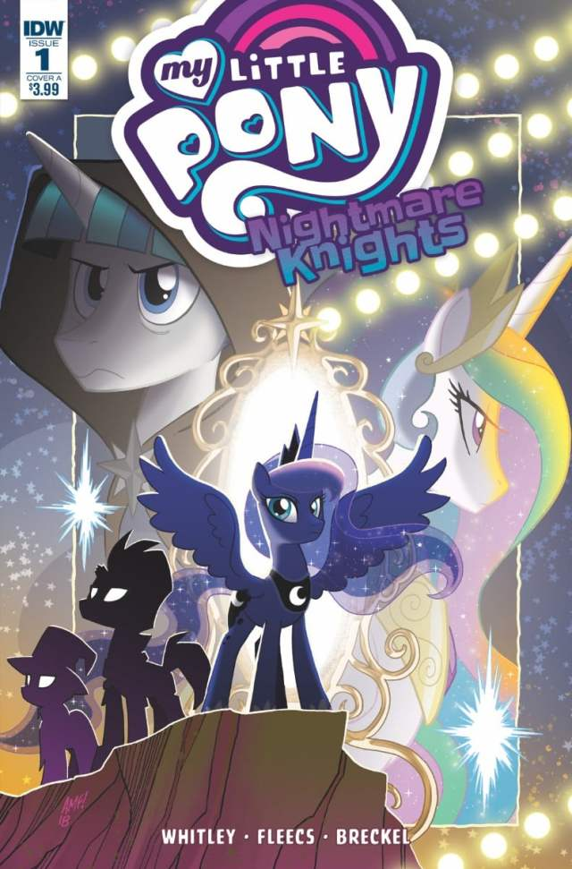 new comics My Little Pony Nightmare Knights