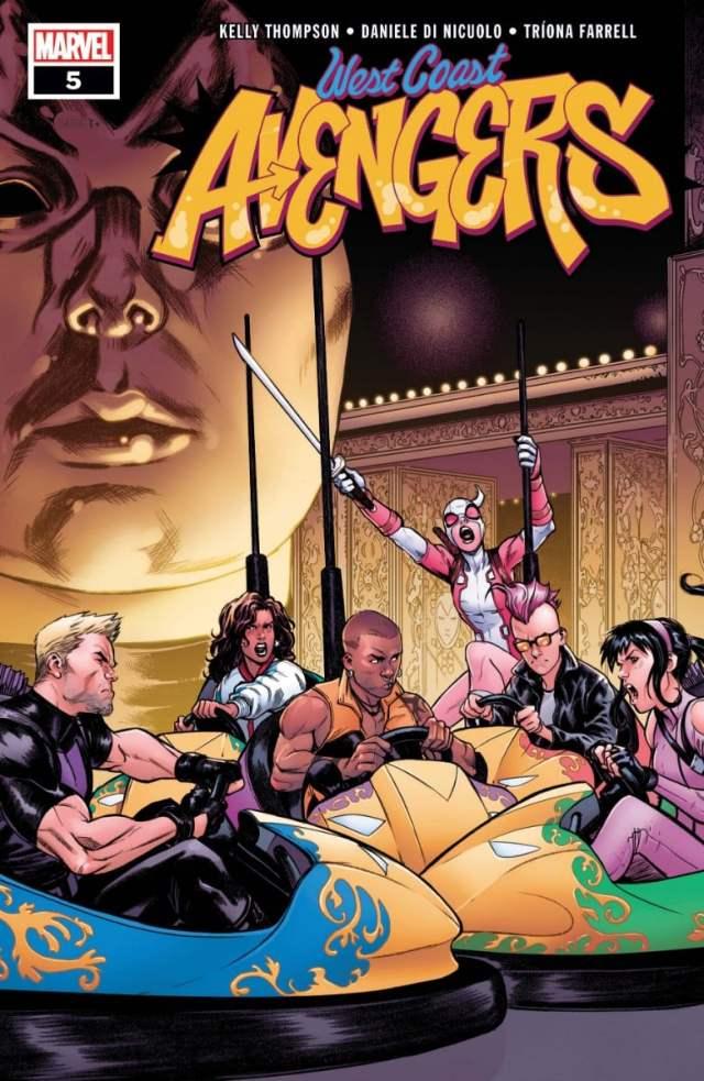 new comics West Coast Avengers #5