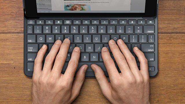 Slim Folio Keypad \ Image: Logitech