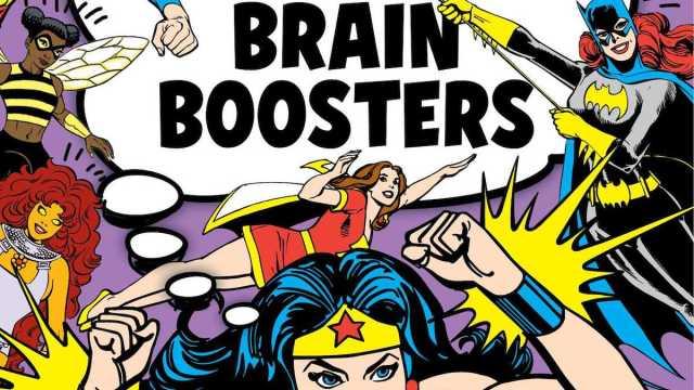 DC Comics Girl Power Brain Boosters