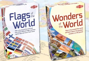 Flags and Wonders of the World, Images: Tactic Games
