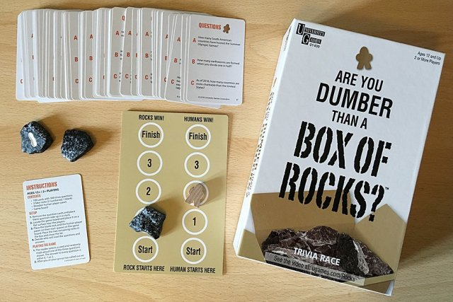 Are You Dumber Than a Box of Rocks? Components, Image: Sophie Brown