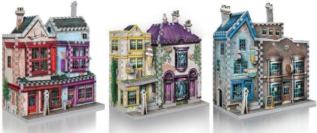 Diagon Alley Puzzles, Images: Wrebbit