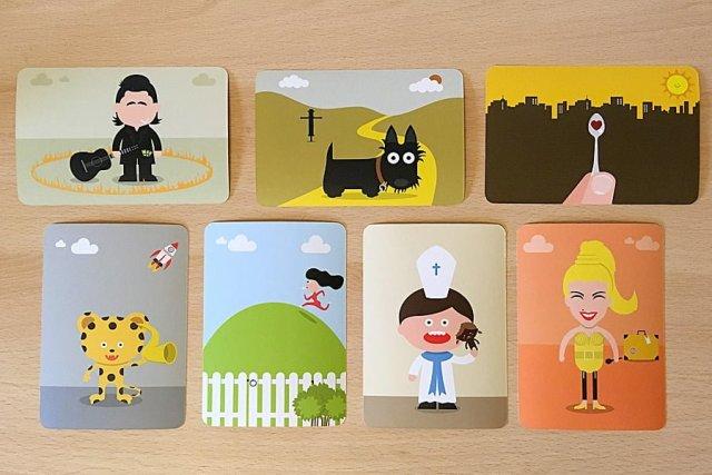Eyetoons Cards, Image: Sophie Brown