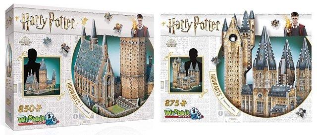 Hogwarts Castle Puzzles, Images: Wrebbit