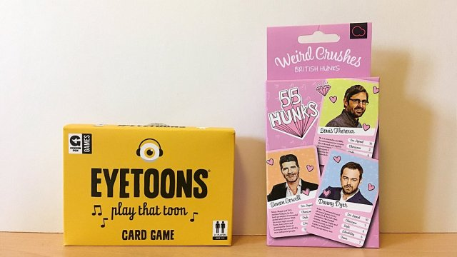 Two Adult Party Card Games, Image: Sophie Brown
