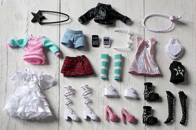 A Selection of Snapstar Clothes and Accessories, Image: Sophie Brown