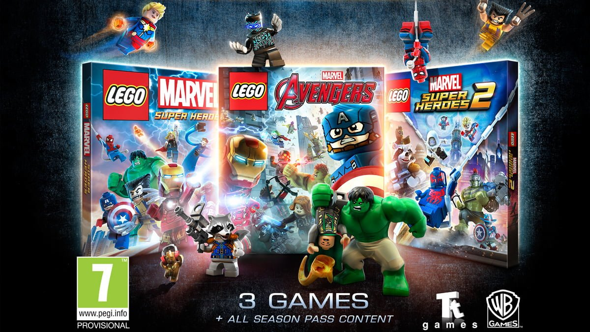 LEGO Marvel Collection, Image: Warner Bros