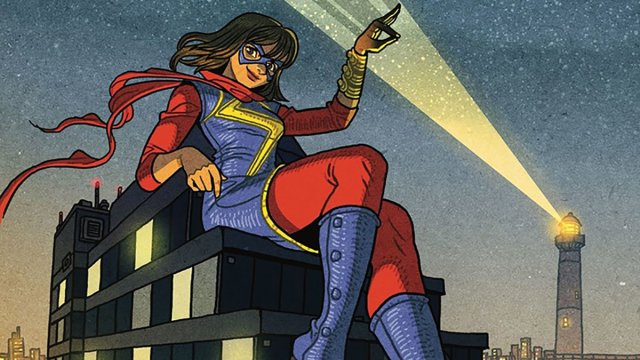 Variant Cover: Afu Chan Magnificent Ms.Marvel #2