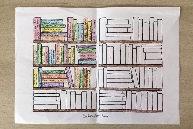 My Bookshelf Print-Off, Image: Sophie Brown