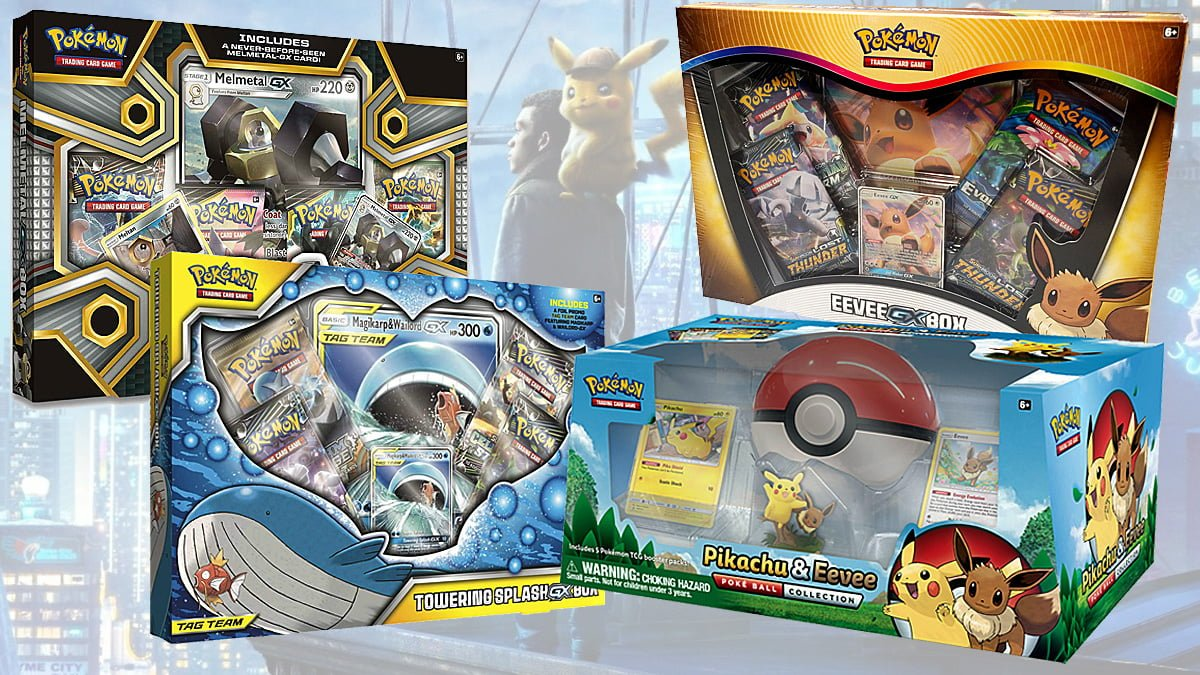 Celebrate The Release Of Detective Pikachu With Pokemon Card Box